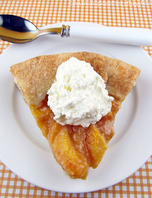 Peaches-and-Cream-Galette
