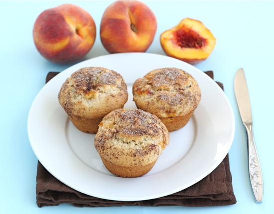 peaches-n-cream-muffins
