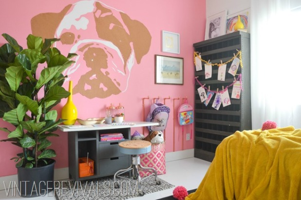 Imaginative Girls Bedroom @vintage revivals[2]
