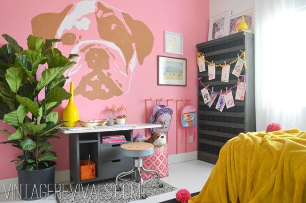 Imaginative Girls Bedroom @vintage revivals[2]