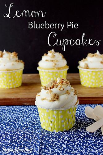 Image belongs to Lemon Blueberry Pie Cupcakes