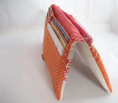 Patchwork-y Bifold Wallet Tutorial