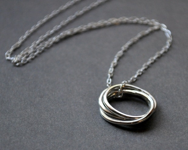 Nested Necklace. Photo from Jess Van Den