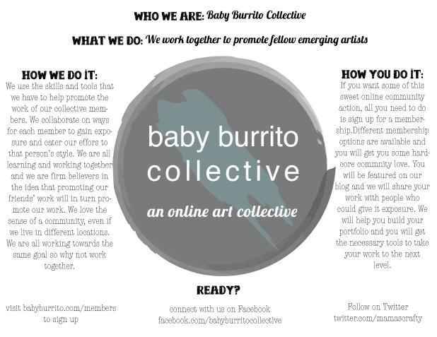 baby burrito flyer