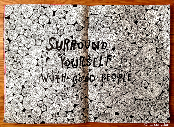 Found this awesome Illustration from Lisa Congdon today. How perfect