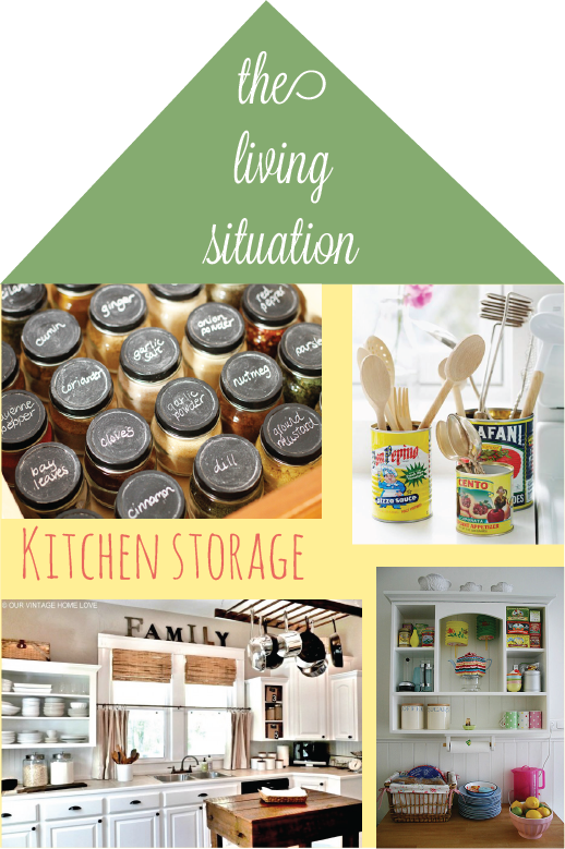Living Situation Kitchen Storage