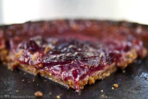 Plum Torte / Photo Credit: Tiffany McCauley / The Gracious  Pantry