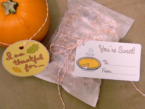 Photo Credit: Amy Cluck-McCallister / DIY Hostess Gift Tags / Click the Photo for the full tutorial